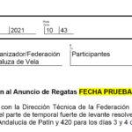 Aplazada la Copa de Andalucía al 3 y 4 de abril